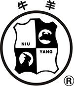 新华皮革化工厂牛羊牌logo